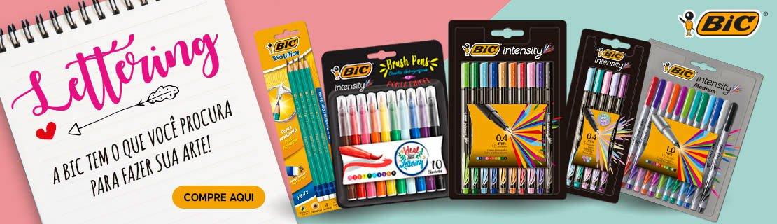 Lettering - A Bic tem o que você procura para fazer sua arte!