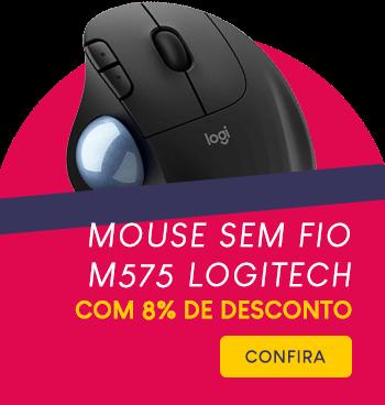 Mouse sem fio M575 Logitech