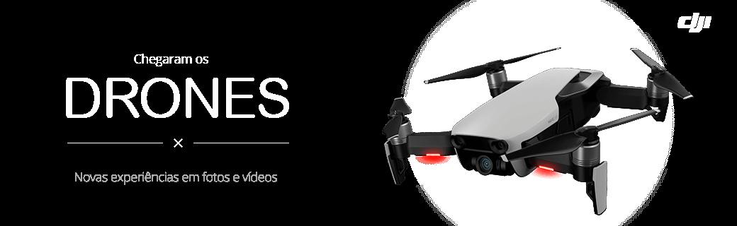 Chegaram os drones