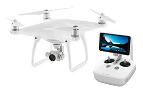 Phantom 4 Advanced com tela de 5,5""