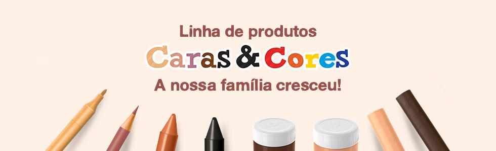 Caras e Cores - Faber Castell