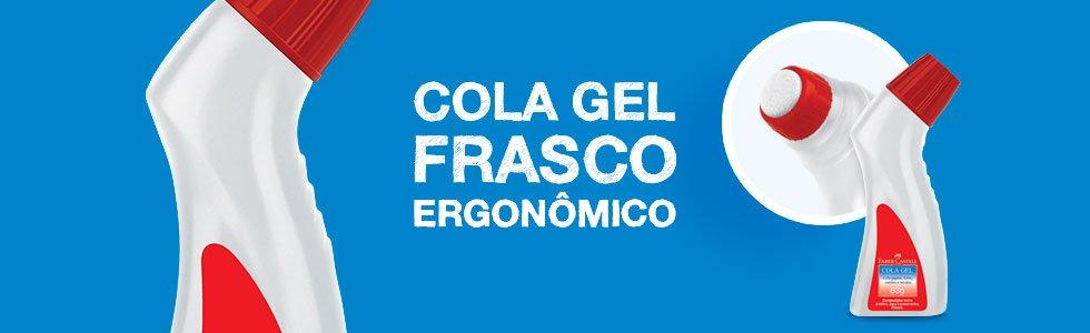 Cola Transparente Ergonômica Faber Castell