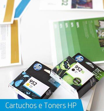 Cartuchos e Toners HP