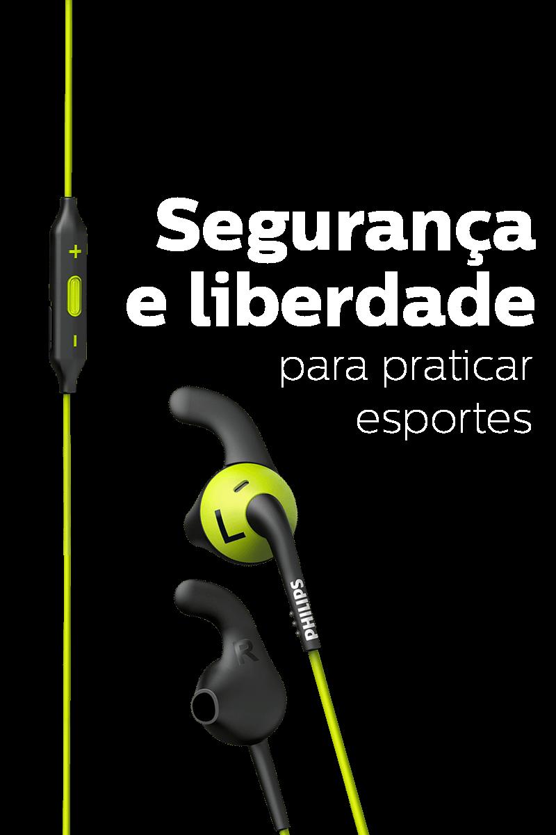 Segurança e liberdade para praticar esportes