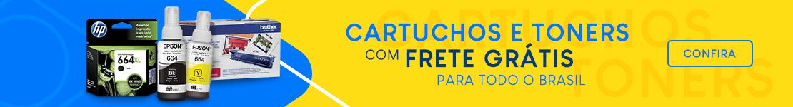 Cartuchos e Toners com Frete Grátis para todo o Brasil!