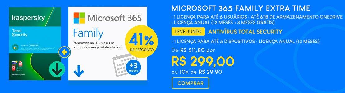 Combo Microsoft + Kaspersky