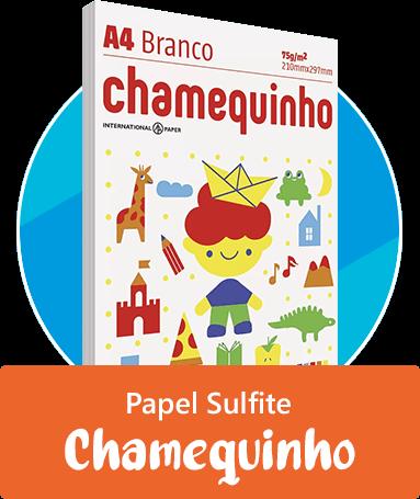 Papel Sulfite Chamequinho