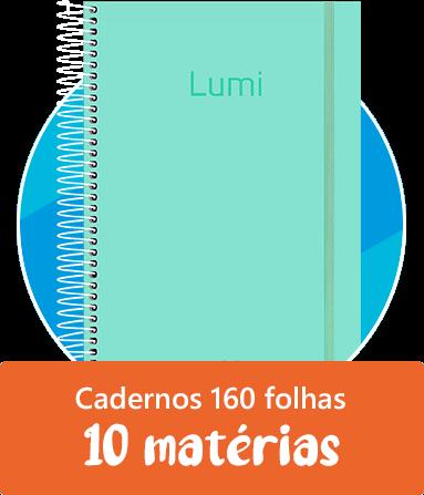 Cadernos 10 matérias (160 folhas)