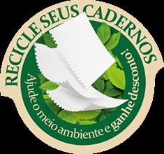 Recicle seus cadernos, ajude o meio ambiente e ganhe descontos!